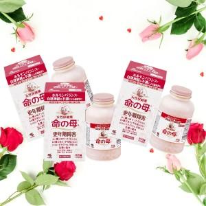 Набор Весна-Лето: Комплекс для нормализации гормонального баланса у женщин Мать жизни KOBAYASHI Inochi no Haha А после 40 на 70 дней 3 шт