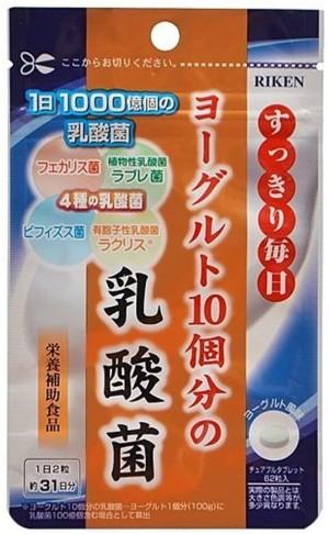 Комплекс с 4 видами молочнокислых бактерий Unimat Riken Lactic Acid Bacteria