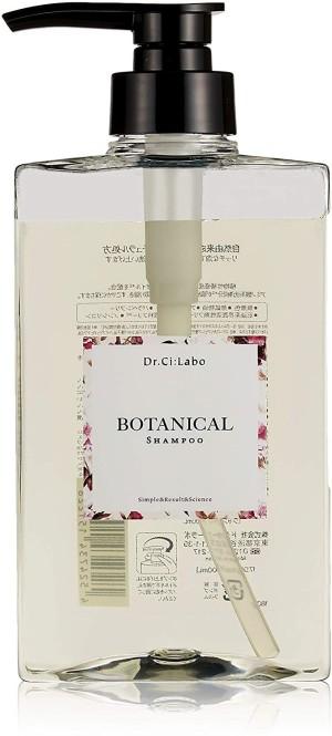 Восстанавливающий бессульфатный шампунь для поврежденных волос Dr. Ci: Labo Botanical Shampoo