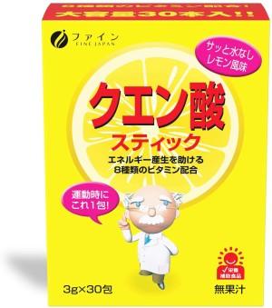 Энергетический комплекс с витаминами С и В Fine Japan Citric Acid