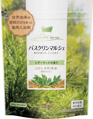 Лечебные соли для ванн на основе необработанных природных компонентов Bathclin Marche