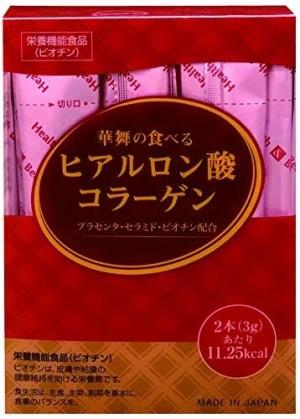 Комплекс со свиным коллагеном, гиалуроновой кислотой, керамидами и витаминами HanaMai Beauty Foods