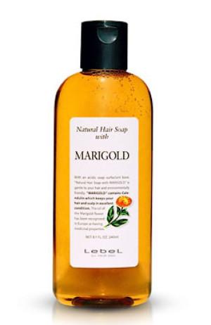Шампунь для жирных волос с экстрактом календулы Lebel Natural Hair Soap with Marigold