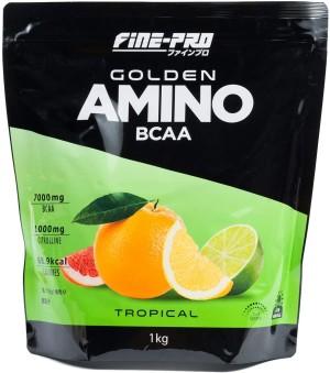 Протеиновый коктейль со вкусом тропических фруктов FINE JAPAN FINE-PRO GOLDEN AMINO BCAA