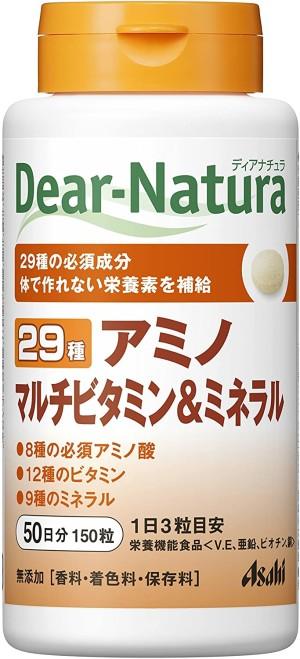 Комплекс незаменимых аминокислот, витаминов и минералов Asahi Dear-Natura Amino + Multivitamin & Mineral