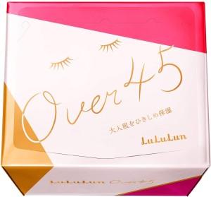 Увлажняющая подтягивающая маска для ухода за возрастной кожей Lululun Face Mask Over 45 Camellia Pink