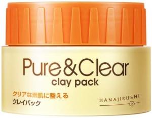 Маска с глиной для проблемной кожи, склонной к акне HANAJIRUSHI PURE & CLEAR CLAY PACK