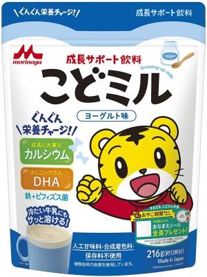 Витаминный напиток для роста детей Morinaga Growth Support Beverage Children's Mill Yogurt Flavor