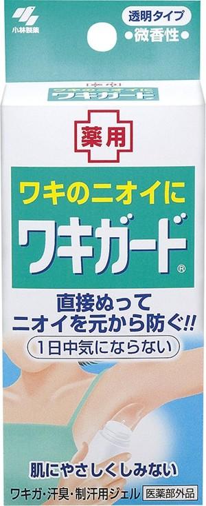 Средство от запаха пота с бактерицидным действием Kobayashi Pharmaceutical Wakigard
