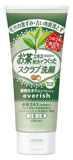 Скраб для лица с зеленым чаем Utena Everish Tea Scrub Wash