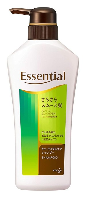 Разглаживающий шампунь Kao Essential Smooth Hair Shampoo