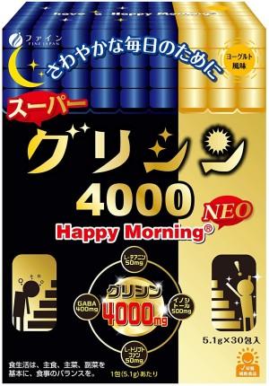 Комплекс для повышения мозговой активности с глицином FINE JAPAN Happy Morning NEO Glycine 4000