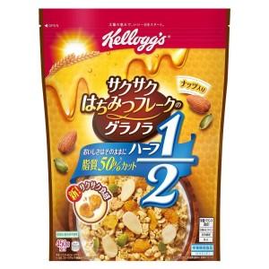 Гранола с хрустящими медовыми хлопьями Kellogg's Crispy Honey Flake Granola Half