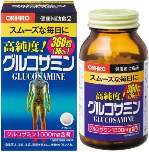 Глюкозамин Orihiro для здоровья суставов