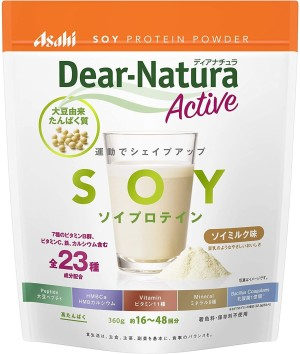Напиток с протеинами сои Asahi Dear-Natura Soy Milk