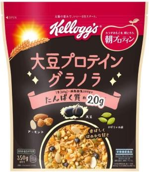 Гранола с соевым протеином Kellogg's Soy Protein Granola