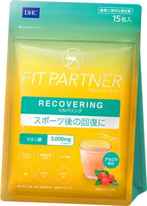 Лимонная кислота для восстановления энергетического баланса со вкусом ацеролы DHC Fit Partner