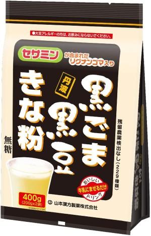 Напиток для укрепления организма Yamamoto Kampo Black Sesame Black Beans Kinako
