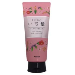 Бальзам для мягких, шелковистых волос Kracie Ichikami Soft And Silky Care Treatment