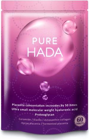 Комплекс для молодости и красоты с высококонцентрированной плацентой PURE HADA Concentrated Placenta + Hyaluronic Acid + Collagen + Ceramide