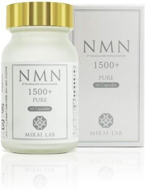 Никотинамидмононуклеотид в высокой концентрации для омоложения организма Mirai Lab NMN Pure 1500+