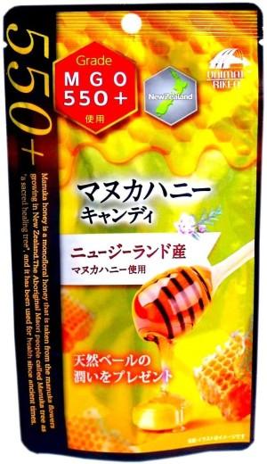 Леденцы с медом Манука Unimat Riken Manuka Honey Candy MGO550+