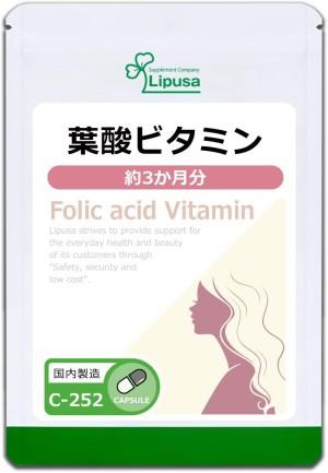 Комплекс для поддержания женского здоровья Lipusa Folic Acid Vitamin