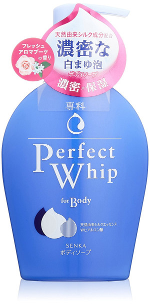 Гель для душа Shiseido Senka Perfect Whip For Body Fresh Aroma Bouquet