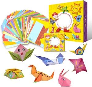 Бумага для оригами с рисунками Jarhit Cartoon Origami
