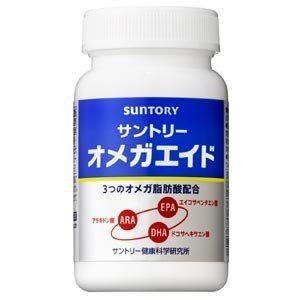 Комплекс с жирными кислотами Suntory ARA+DHA+EPA