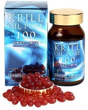 Очищенное масло криля Krill Oil Pure 100