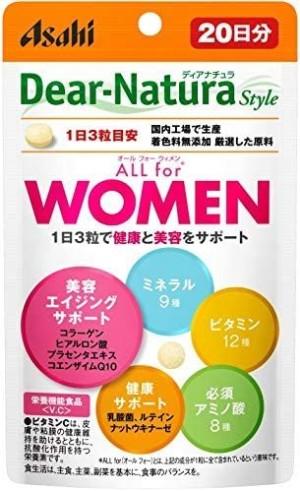 Витаминно-минеральный комплекс для женщин Asahi Dear-Natura Style ALL For WOMEN