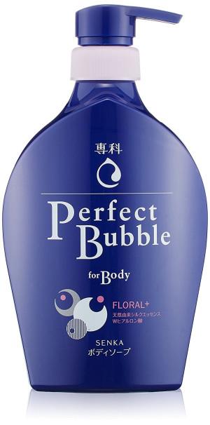 Гель для душа против неприятных запахов Shiseido Senka Perfect Bubble For Body Floral Plus