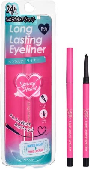Стойкая подводка для глаз KOJI Spring Heart Long Lasting Eyeliner